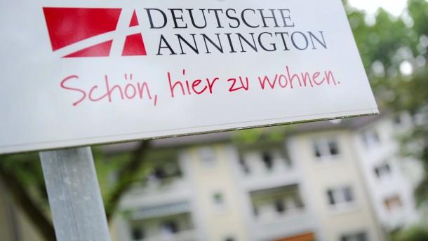 Deutsche Annington mit Zahlen
