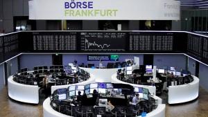 Aktienkurse nach EZB-Entscheidung weiter auf Höhenflug