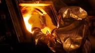 Ein Arbeiter von Newmont: Goldminenaktien haben zuletzt kräftig an Wert gewonnen.