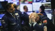 Die angekündigten Strafzölle von Präsident Trump bereiten nicht nur Aktienhändlern in New York Sorgen.