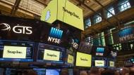 Desaster für Snapchat-Firma kurz nach Börsengang
