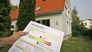 Angabe zum Energieverbrauch ist Pflicht