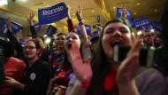 Amerikaner wählen Präsidentschaftskandidaten in New Hampshire