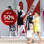 Sale und kein Ende - viele Modegeschäfte bieten das ganze Jahr über Rabatte.
