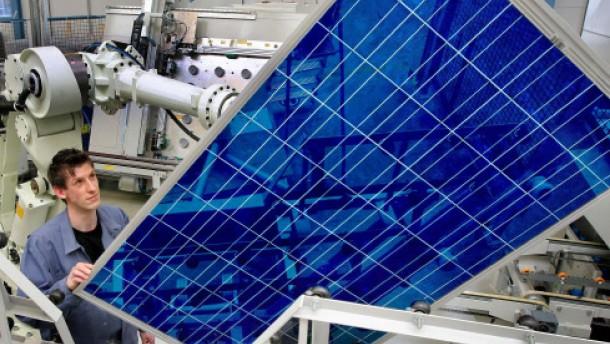 Solarworld-Aktie ringt um den Trend