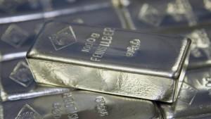 Die gefährliche Wette auf Silber