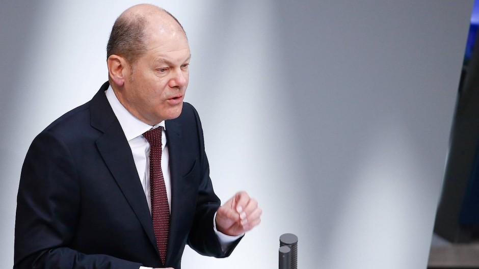 Bundesfinanzminister Scholz will Staatsbeteiligungen nicht länger als nötig halten.
