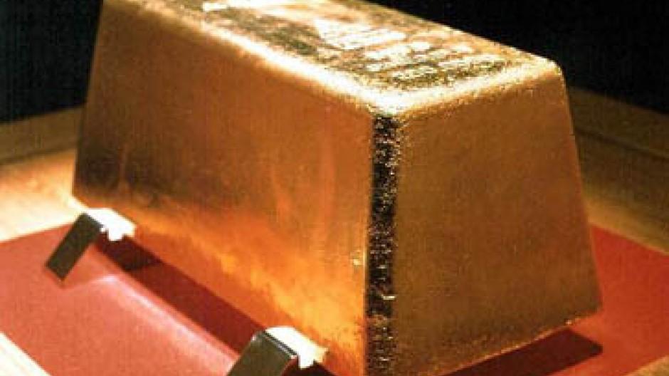 Bei Anleger weit stärker gefragt als in der Industrie: Gold