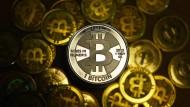 Muss jetzt in Amerika auch versteuert werden: Die virtuelle Währung Bitcoin.