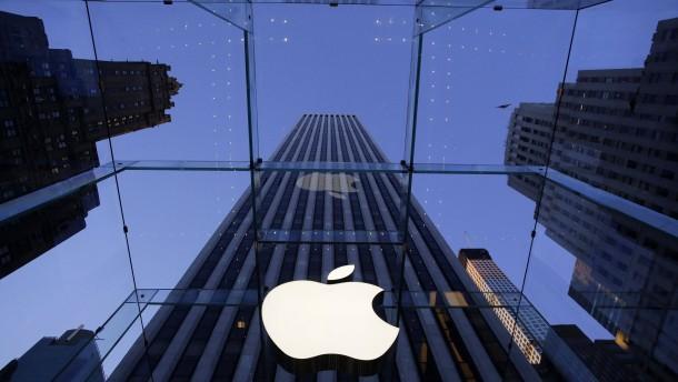 Apple ist mehr als 700 Milliarden Dollar wert