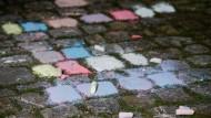 Bußgeldverfahren wegen Straßenkreidemalerei eingestellt