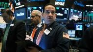 An den amerikanischen Anleihemärkten schwindet die Angst vor einer Rezession, an der New Yorker Stock Exchange ebenfalls.