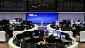 Aktienkurse steigen um 5 Prozent