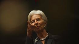 Christine Lagarde bleibt bei lockerer Geldpolitik