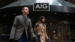 Schäden lasten auf amerikanischem Versicherer AIG