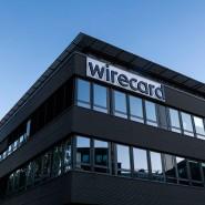 Dämmerung: Bürogebäude von Wirecard in Aschheim bei München