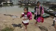 63 Prozent der Kinder in Chinas ländlichen Regionen besuchen die Schule nur bis zur neunten Klasse.