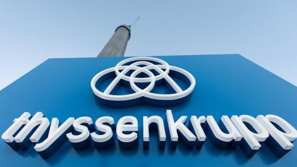 Thyssen-Krupp-Aktionäre zweifeln an den Konzernplänen
