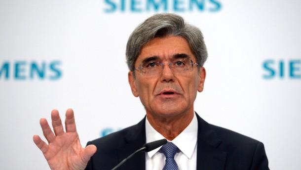 Börse honoriert Siemens-Bilanz