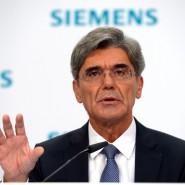 Der Vorstandsvorsitzende der Siemens AG, Joe Kaeser, kann eine gute Bilanz vorweisen.