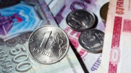 Der Rubel verliert zunehmend an Wert.