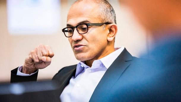 Mehr Geld für den neuen Microsoft-Chef