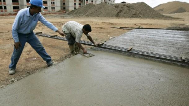 Zementhersteller unter Druck