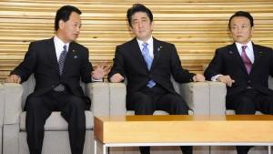 Japan steuert auf Neuwahlen zu