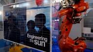 Die Sonneningenieure von Centrotherm sorgten 2012 für Dunkelheit