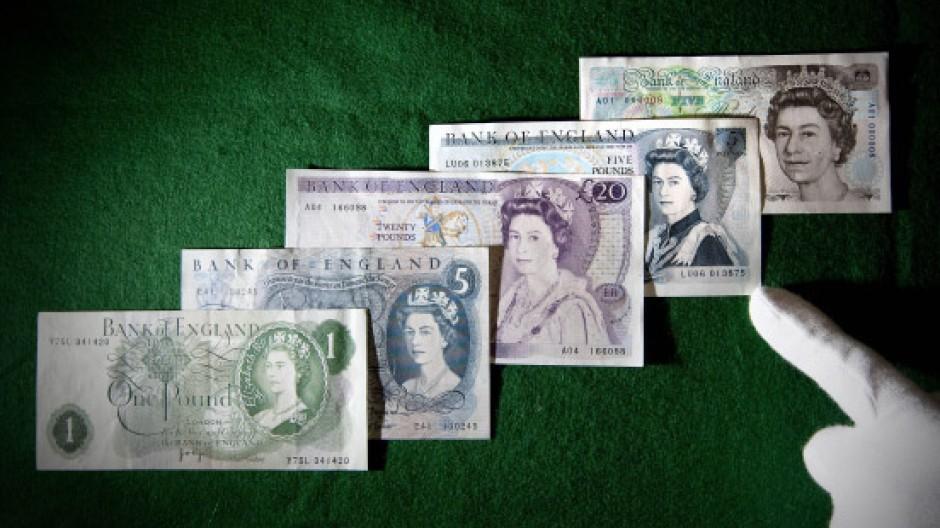 Sterling Banknoten