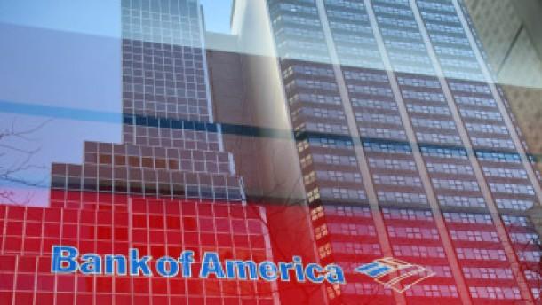 Bank of America schwächt die Eigenkapitalbasis