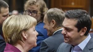 Merkel berät mit Tsipras nicht nur über Flüchtlinge