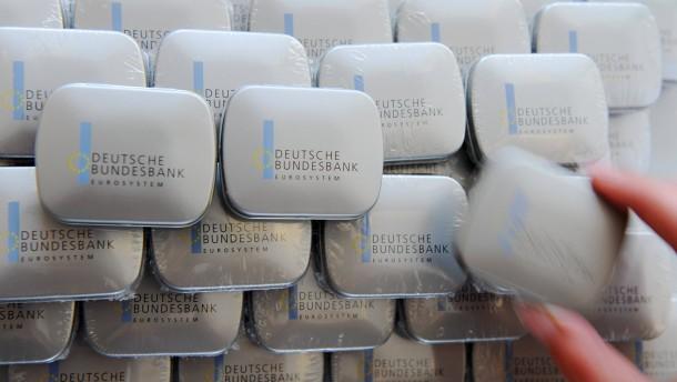 Deutsche Bundesbank mit 4,1 Milliarden Euro Überschuss