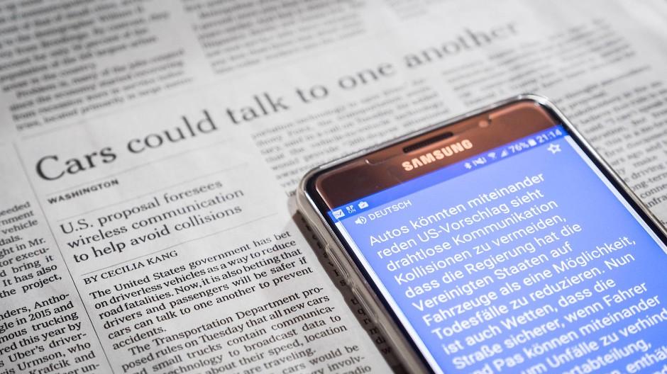 Übersetzer-Apps im Test: Das können die besten