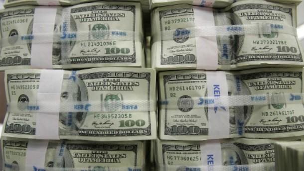 Der Stachel des starken Dollars