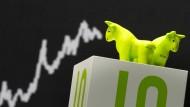 Dax-Anleger treten auf die Bremse