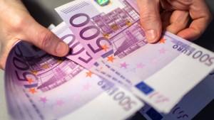 Die letzten 500-Euro-Scheine
