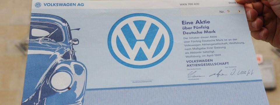 Volkswagen Aktie Aktuell