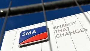 SMA-Aktie auf Höhenflug