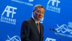 Neue Rücktrittsgerüchte um Chef der chinesischen Börsenaufsicht