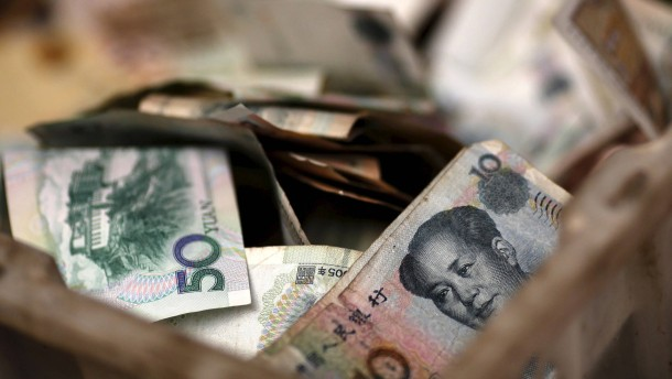 Beförderung für Chinas Yuan