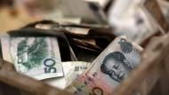 Der Internationale Währungsfonds sieht offenbar ein Ende der chinesischen Währungsmanipulationen