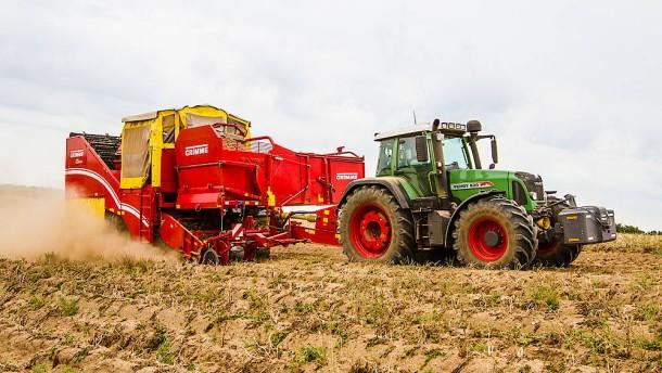 KTG Agrar Kartoffelrodung