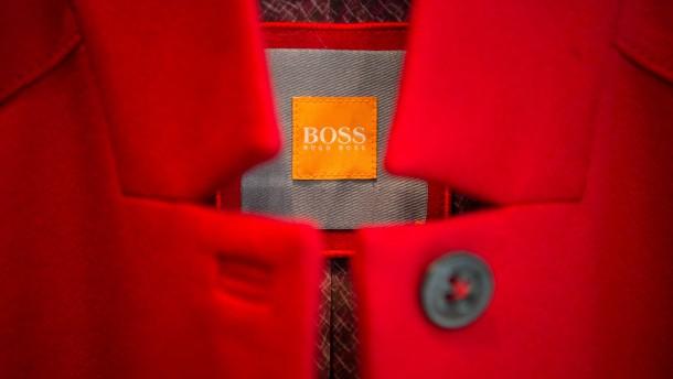 Hugo Boss macht Finanzvorstand zum neuen Chef