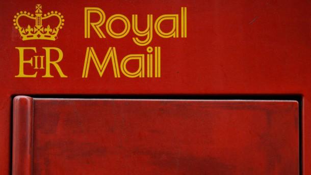Royal-Mail soll bis zu 3,3 Milliarden Pfund bringen