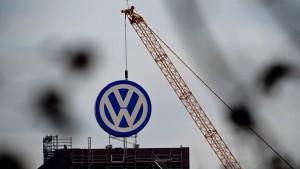 Die Baustelle Volkswagen
