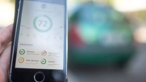 App von Telefonica, die Details zum Fahrprofil des Nutzers aufzeichnet.