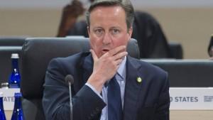 Britischer Premier Cameron wegen Panama Papers unter Druck