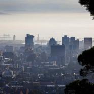 Blick auf Cape Town.