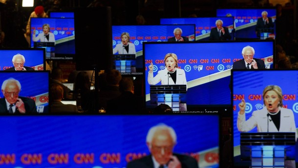 Clintons Chance und Trumps Risiko